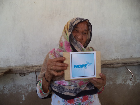 HOPE Distributes 200 Iftar Boxes per Day to the Poor