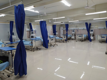HOPE Sets Up New Covid-19 ICU at Sindh Government Hospital - Karachi