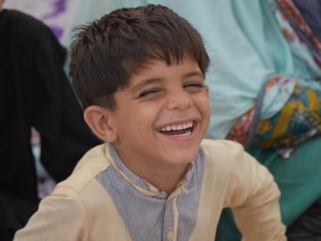 HOPE USA and Standard Charter Sponsor Iftar for 1,500 School Children
