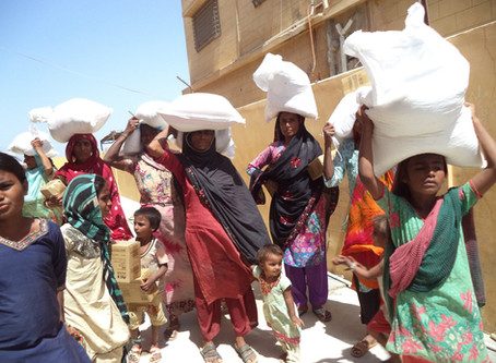 200 Food Ration Bags Distributed in Thatta