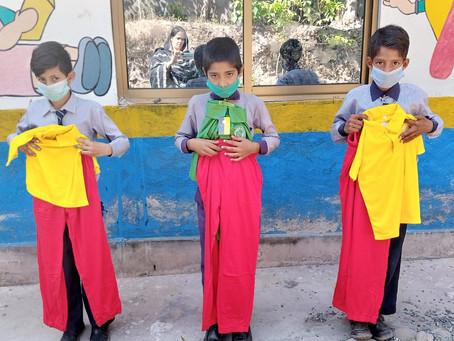 Al Salam School in Dubai Donates 650+ Uniforms to HOPE Students