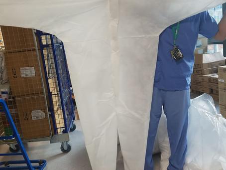 HOPE UK Donates 600 PPE to Local British Hospital