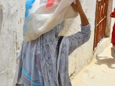 HOPE USA Distributes 1,000 Ration Bags to the Poor