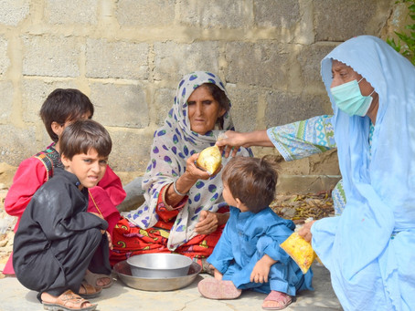HOPE Flood Relief Efforts Continue in Bilal Colony and Gharo