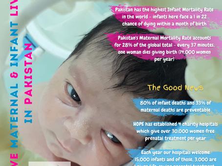 Saving Maternal & Infant Lives in Pakistan