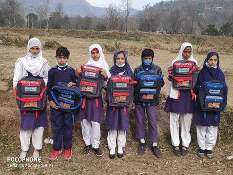 850 Families Receive Warm Blankets, Clothes, School Supplies During HOPE Pakistan's Kashmir Visit