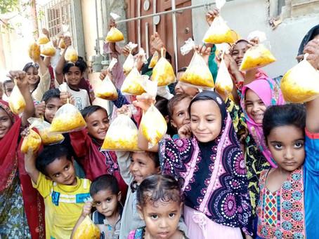 Door-to-Door Iftar Distribution Continues