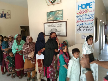 300+ Patients Treated at Medical Camp in Thatta Hospital