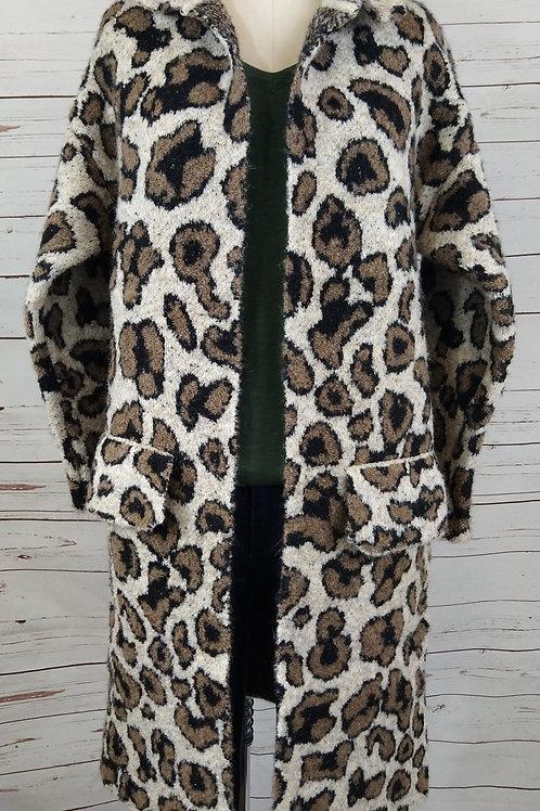 Baciano Abbie Collar Sweater Coat