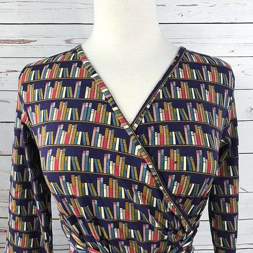 Effie's Heart Sarah Dress in Library Print