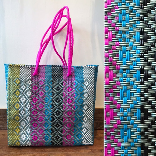 By 4 Hands Multi Diamond Tote