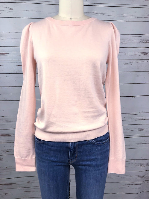 Sanctuary Statement Sleeve Sweater in Pink