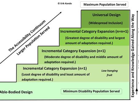 Incremental Universal Design and the Accessibility Continuum– Erik Kondo