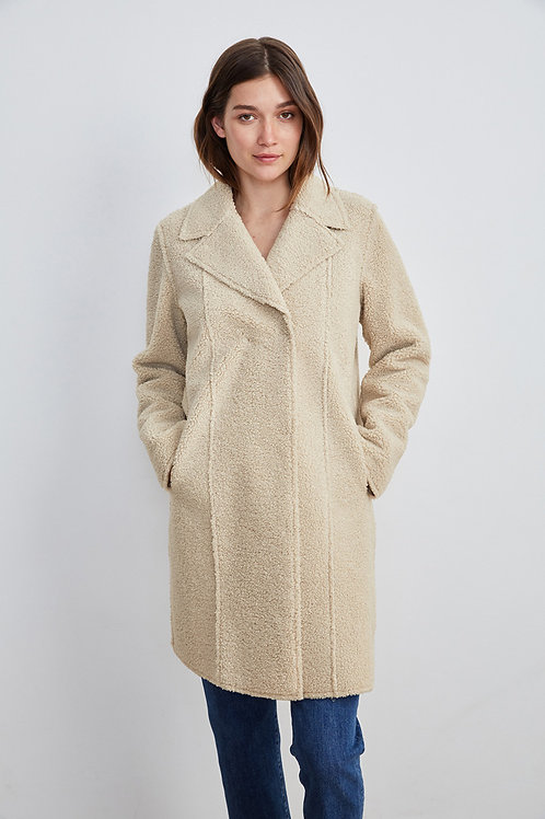 Velvet by Graham and Spencer Lux Sherpa Coat