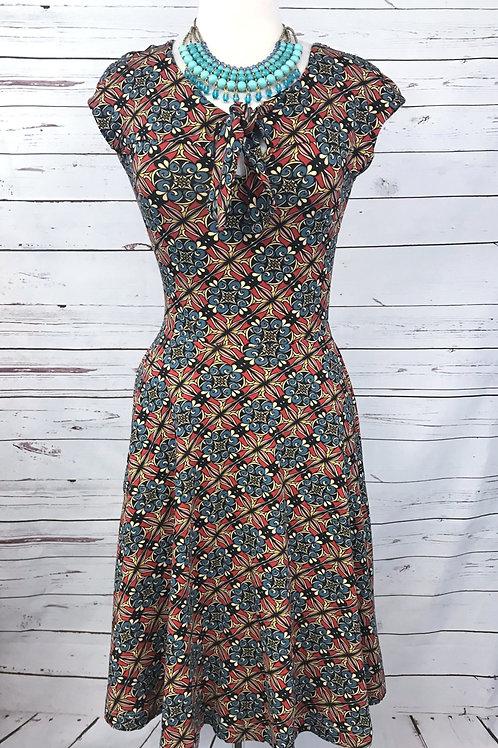 Effie's Heart Demoiselles Dress in Nouveau Print