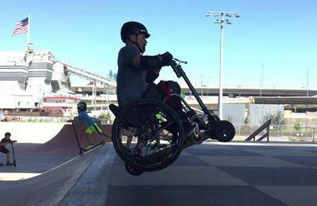 Wheelchair-Scooter Dynamics - Erik Kondo