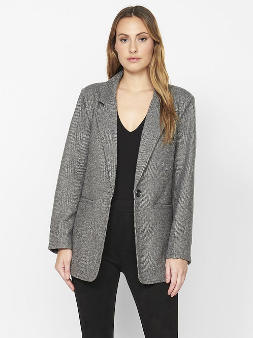 Sanctuary Daily Blazer in Herringbone