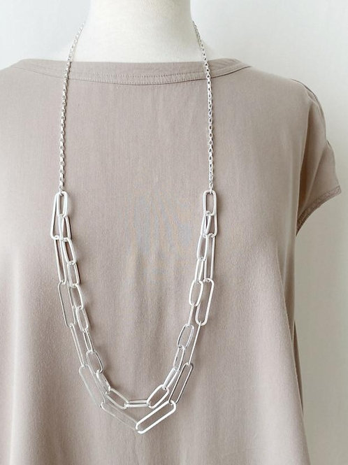 Caracol Link Necklace in 2 Colors