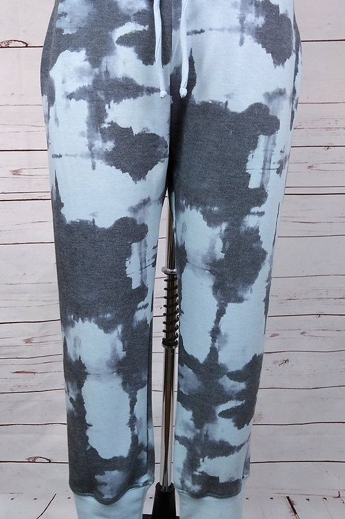 Nally and Millie French Terry Inkblot Joggers