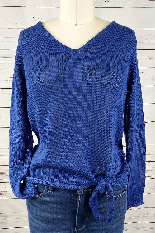 Wooden Ships Amelia Tie Front Sweater