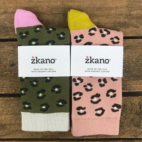 zkano Chloe Leopard Socks