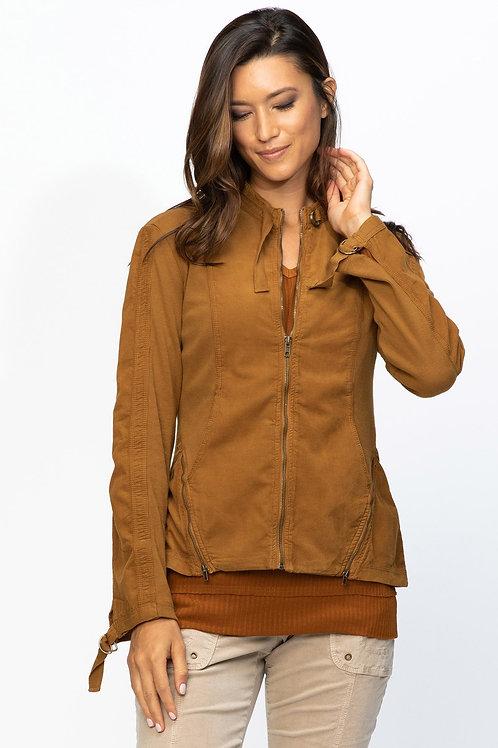 XCVI Wearables Serengeti Cord Jacket in Walnut