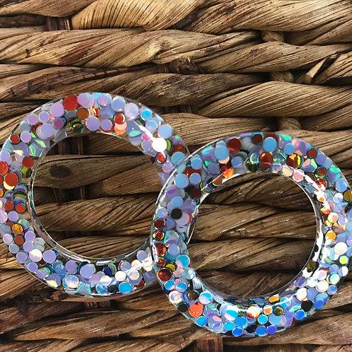 Joy Susan Confetti Post Earrings