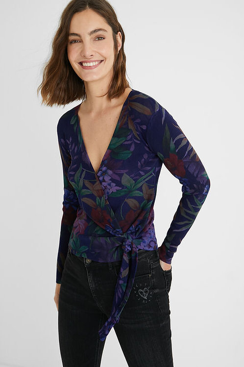 Desigual Sidney Sweater with Tie