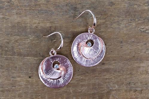 Caracol Spiral Shell Earrings
