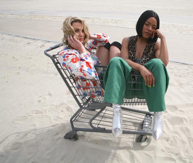 Aleeda & Cheyenne in Long Beach IG @aleeda_life @preciouscheyenne