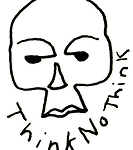 Think No Thin OG Skull Logo