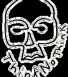Think No Thin OG Skull Logo