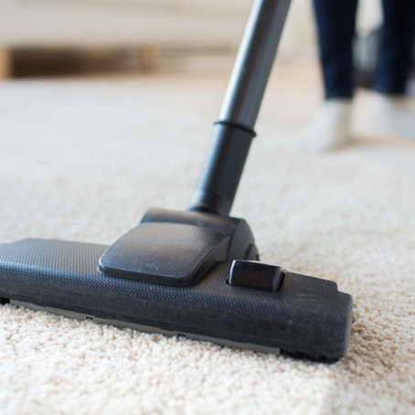 how to use your vacuum to clean your cabinets.