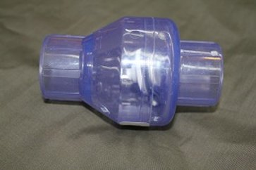 """1"""" Clear Swing Check Valve"""