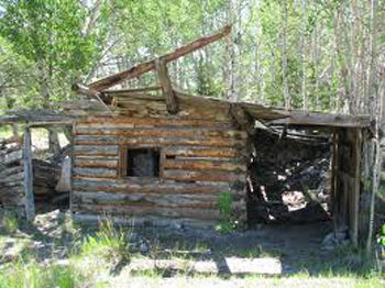 My Gold Panning River Gold Abandoned Shack