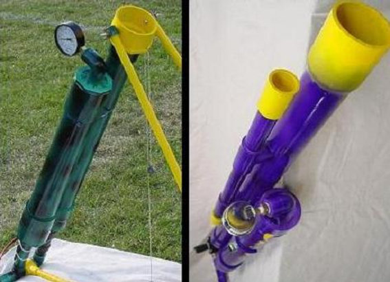 Shoulder Fired Water Balloon Launcher & Mortar Combo - Digital Plans