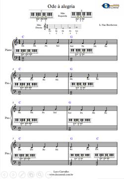 Ode a Alegria Piano DCM 2021
