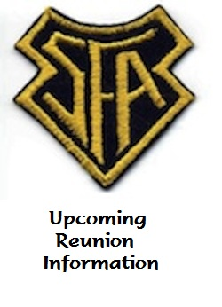 Upcoming Reunion Info