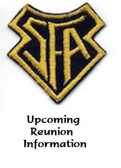 Upcoming Reunion Info