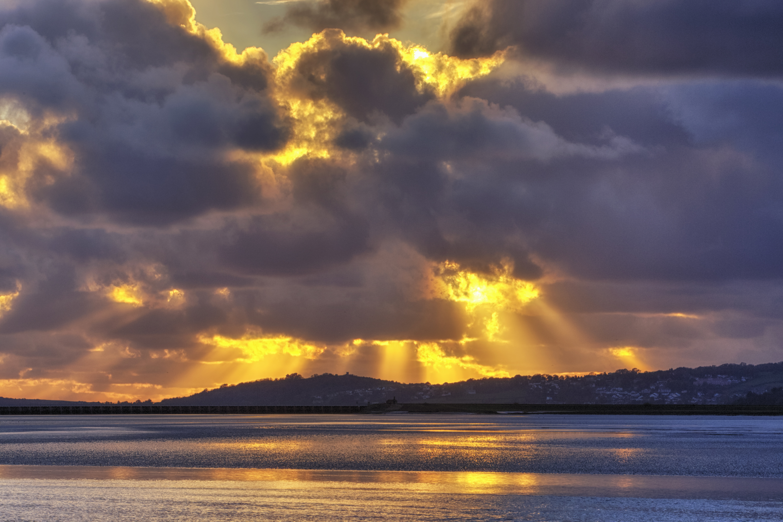 Sunset, Arnside