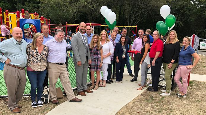 Tatem Playground Ribbon Cutting 2019
