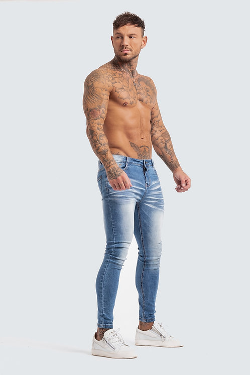 Skinny 'Essential' Jeans - Sky Blue