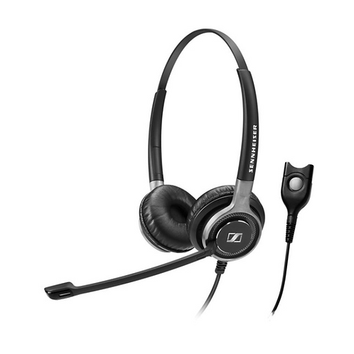 Sennheiser SC 660, Headset, Head-band, Office/Call center, Black,Silver, Binaura