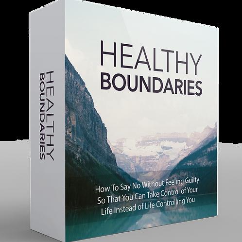 Healthy Boundaries Video Upgrade