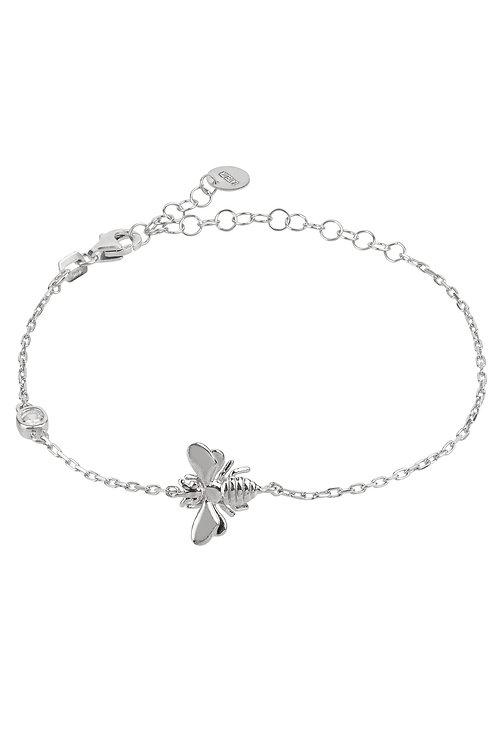 Queen Bee Bracelet Silver