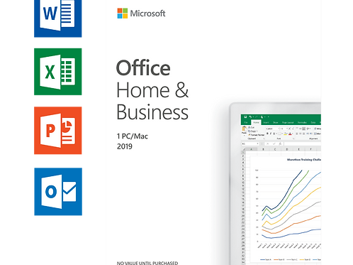 OFFICE 2019 HOME AND BUSINESS FOR MAC Permanently valid