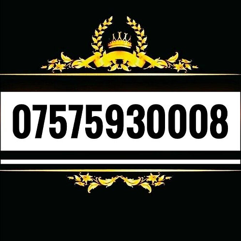 New GOLD VIP BUSINESS EASY MOBILE PHONE NUMBER SIM CARD Vodafone ee three O2 UK