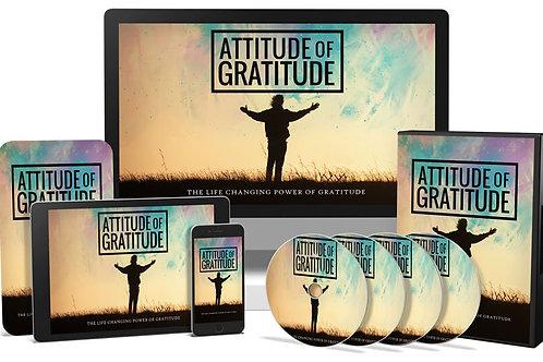 Attitude Of Gratitude Video Upgrade