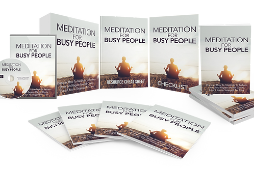 Meditation For Busy People Video Upgrade