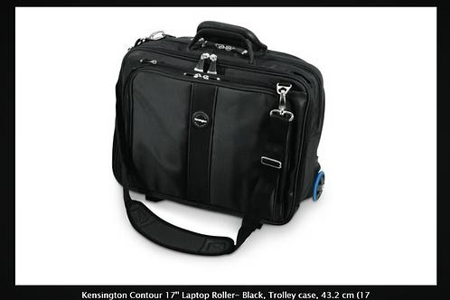 """Kensington Contour 17'' Laptop Roller- Black, Trolley case, 43.2 cm (17""""), Shoul"""